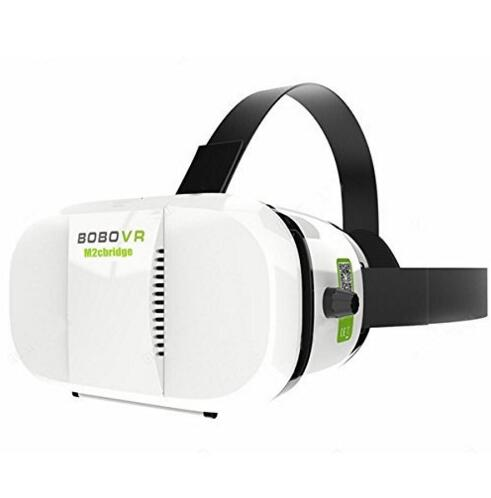 "M2cbridge Latest 3rd Generation Virtual Reality Headset 3D Movies and Games 4.7"" - 6.0"" Phone"